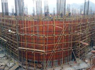 安置工程案例-使用灰狼建筑9层红板
