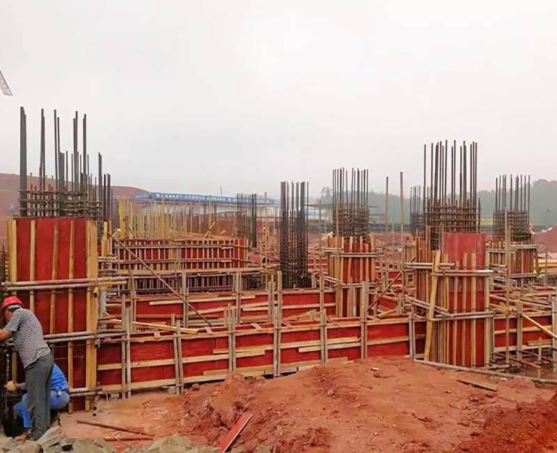 泉州高层项目-使用10层覆膜板