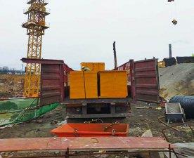 无锡开发区项目-使用2440-1220mm建筑模板