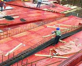 合肥建工项目-使用桉木建筑模板