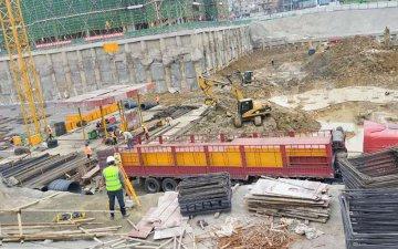 中建七局承建项目评价灰狼建筑模板