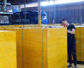 松桉木建筑苯酚面模板一级品质