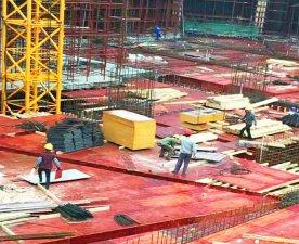 建筑覆膜板-超高性价比模板