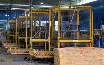 建筑模板生产流水线设备