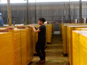 机缘巧合,贵港建筑模板厂家合作大客户!