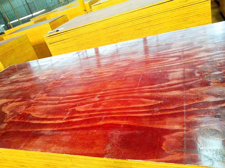 建筑红面模板